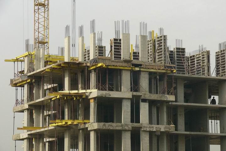 Устройство монолитных вертикальных конструкций