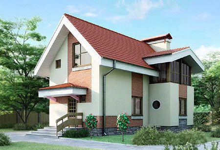 Проекции проекта загородного дома